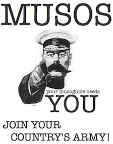 Your Musoguide Needs You!
